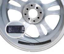 Wheel Weight | Tape [Steel] 1/2 Oz. Low Profile [52- 3 Oz Strips] [Black]