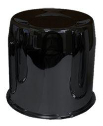 Cap | Push Thru Steel 5.150 Bore [Black] (Wheel Caps)