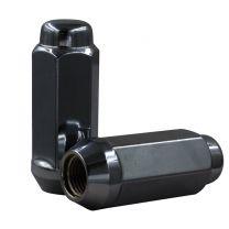 Lug Nut - Bulge Acorn 2.40 Long (7/8) - M14 1.5 (Blk)