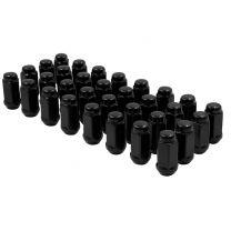 Install Kit - Bulge Acorn 2.40 Long (7/8) - 9/16 (8 Lug)(Blk)(Lugs Only)