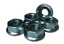 3 Piece Bolts | Nut Serrated Nut I 8mm 1.25 Whiz Flng Nut Hrd Stl Znc
