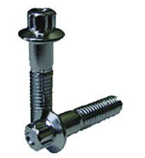 3 Piece Bolts | Bolt 12 Point, Chrome Steel 8mm 1.25 Long  [Grade 12.9]