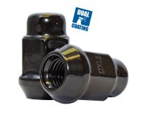 Lug Nut - Bulge Acorn (3/4) - M12 1.25 (2Pc)(Blk)