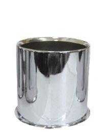 Cap - Push Thru Steel (Open End) - 4.250 Bore