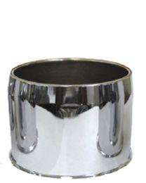 Cap | Push Thru Steel [Open End] 5.150 Bore (Wheel Caps)