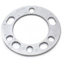 Wheel Spacer - Die Cast Aluminum - 5/6 Lug (135mm/5.50 BC) - 6mm / 1/4 Thick