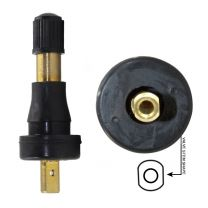 TPMS - OEM Sensor Service Kit - Snap in Rubber Valve (High Pressure)