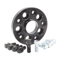 Wheel Spacer - Bolt-On Spacer Kit - 5x100-5x112 (20mm) 57.10m w/M14 1.5 Blk Bolt