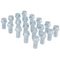 Install Kit - Acorn Seat Bolt (17mm) - M12 1.5 x 19mm (5 Lug)(Lugs Only)