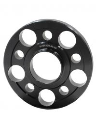 Wheel Spacer - 6061 Billet Aluminum - 5 on 100mm - 20mm - 56.10 OD/ID (Collar)