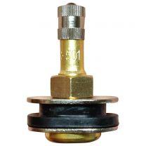 Valve Stem - Metal (0.625 Rim Hole) - TR501-Oval