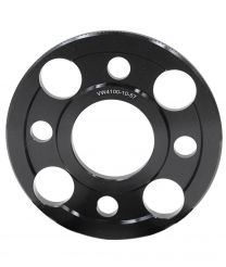 Wheel Spacer - 6061 Billet Aluminum - 4 on 100mm - 10mm - 57.10 ID