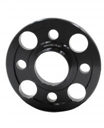 Wheel Spacer - 6061 Billet Aluminum - 4 on 100mm - 15mm - 57.10 OD/ID (Collar)