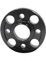 Wheel Spacer - 6061 Billet Aluminum - 4 on 100mm - 20mm - 57.10 OD/ID (Collar)