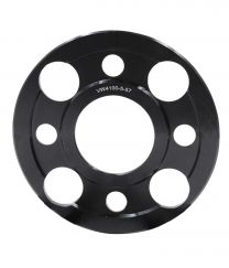 Wheel Spacer - 6061 Billet Aluminum - 4 on 100mm - 5mm - 57.10 ID