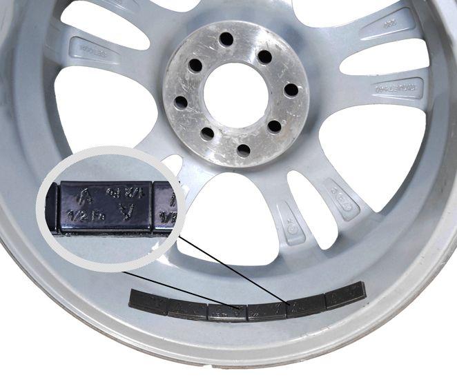 Wheel Weight | Tape [Steel] 1/2 Oz. Low Profile [52- 3 Oz Strips] [Black]