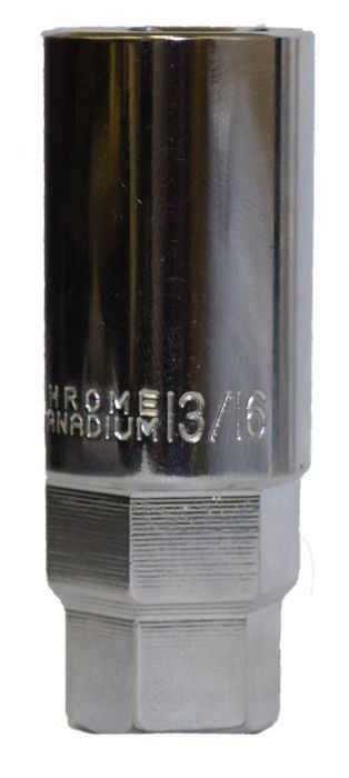 10384-2 Tools | Thin Wall Sockets 13/16 Socket w/ 7/8 and 3/4 Hex [3/8 Drive] - 27.3mm/1.07 OD Tools