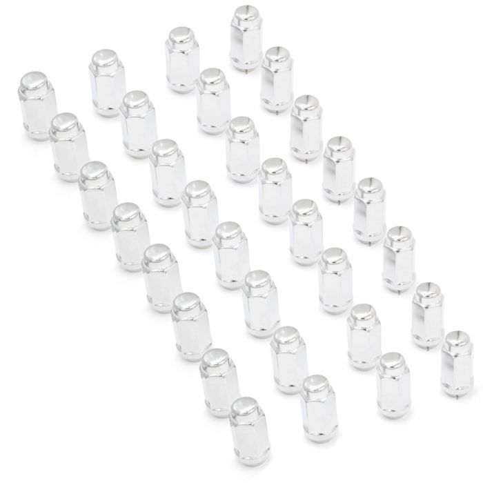Install Kit - Bulge Acorn 2.00 Long (7/8) - 9/16 (8 Lug)(Lugs Only)