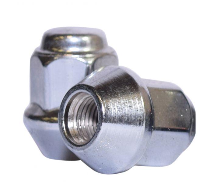 Lug Nut | Bulge Acorn [17mm Hex] 2 Piece 3/8 (Lugs)