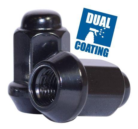 Lug Nut - Bulge Acorn (14mm) - 3/8 (Blk)