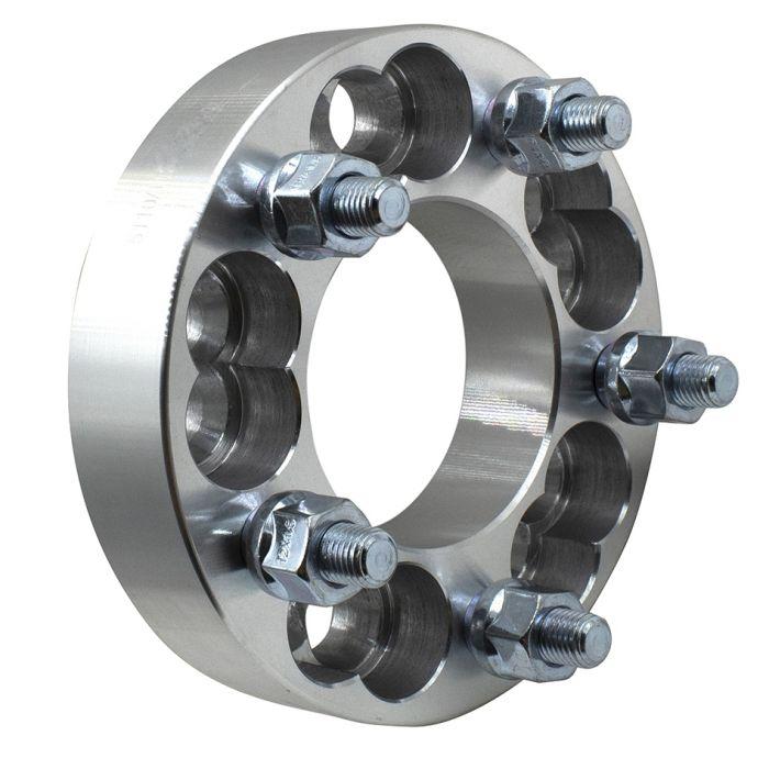 Wheel Adapter - 6061 Billet Aluminum - 5x110/112-5x4.50 (1.25) 74m CB (M12 1.5)
