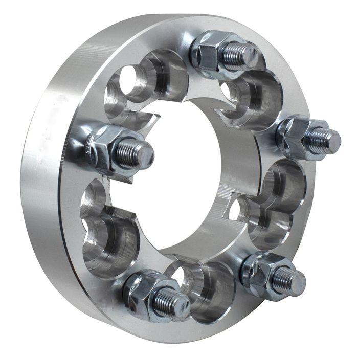 Wheel Adapter - 6061 Billet Aluminum - 5x100/4.25-5x4.50 (1.25) 74m CB (M12 1.5)