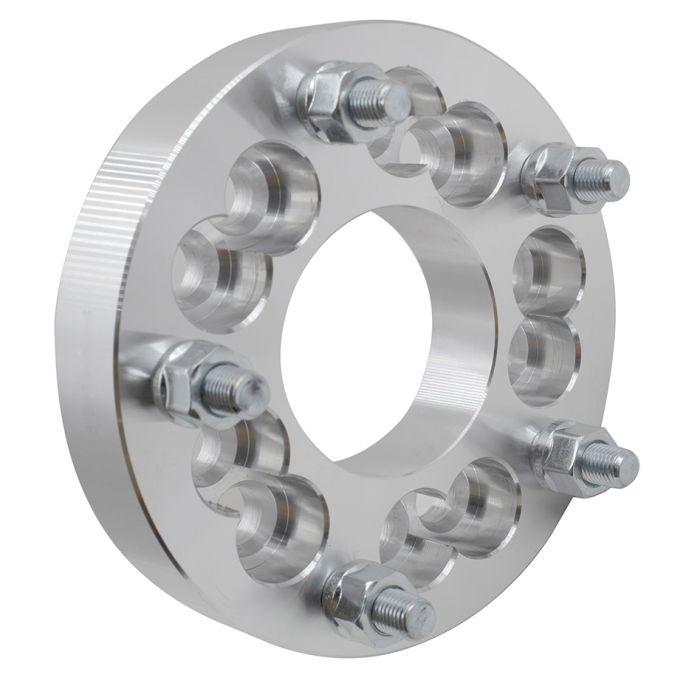 Wheel Adapter - 6061 Billet Aluminum - 5x4.5/4.75-5x5.5 (1.25) 74m CB (M12 1.5)
