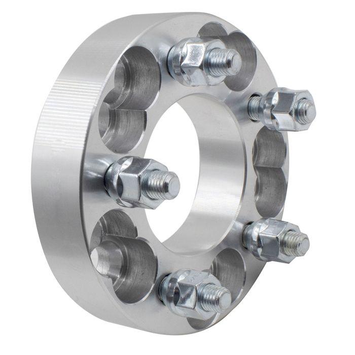 Wheel Adapter - 6061 Billet Aluminum - 5x4.5/4.75-5x5.00 (1.25) 74m CB (M12 1.5)