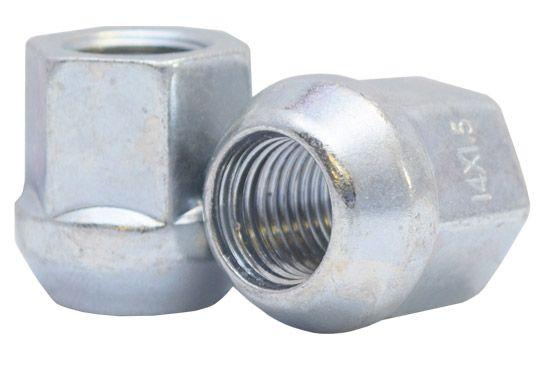571148 Lug Nut | OE Bulge Acorn Zinc [13/16 Hex] 14mm 1.50 Lugs