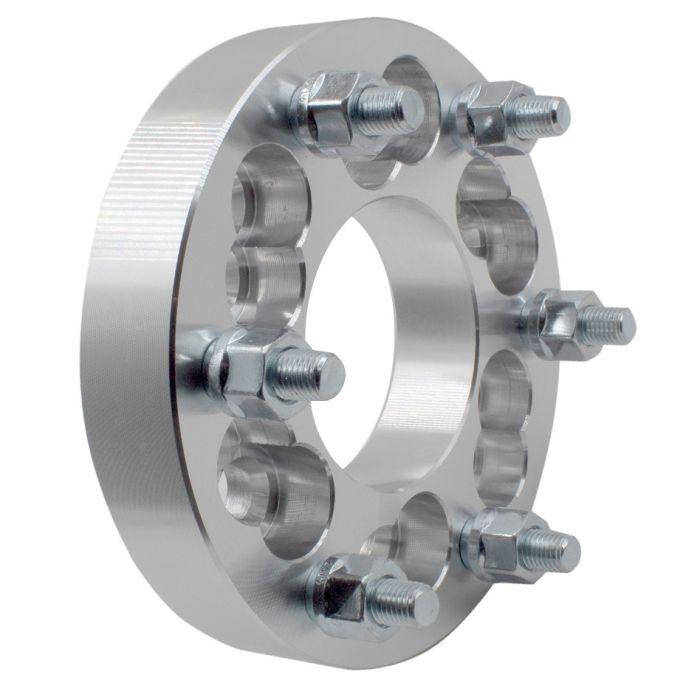 Wheel Adapter - 6061 Billet Aluminum - 6x4.5/5.00-6x5.50 (1.25) 78m CB (M14 1.5)
