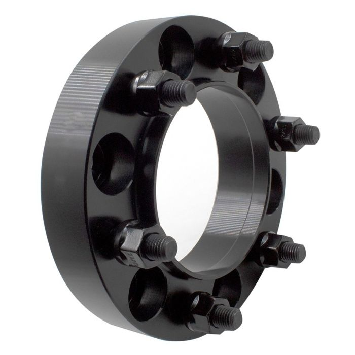 Wheel Adapter | 6061 Billet Aluminum 6 on 5.50 to 6 on 5.50  [1.25] 108mm CB 14mm Stud