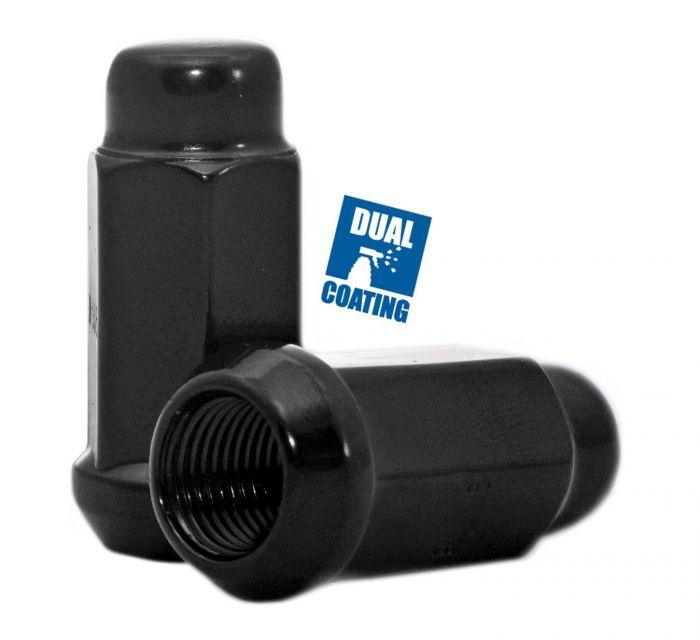 Lug Nut - Bulge Acorn 1.90 Long (3/4) - M14 1.5 (Blk)