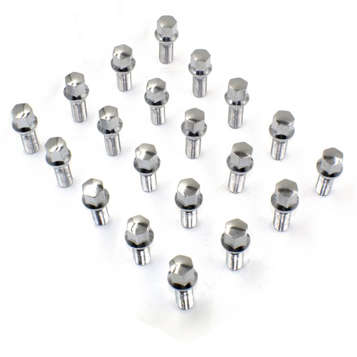Install Kit - Ball Seat Bolt (17mm) - M12 1.5 x 40mm (5 Lug)(Lugs Only)