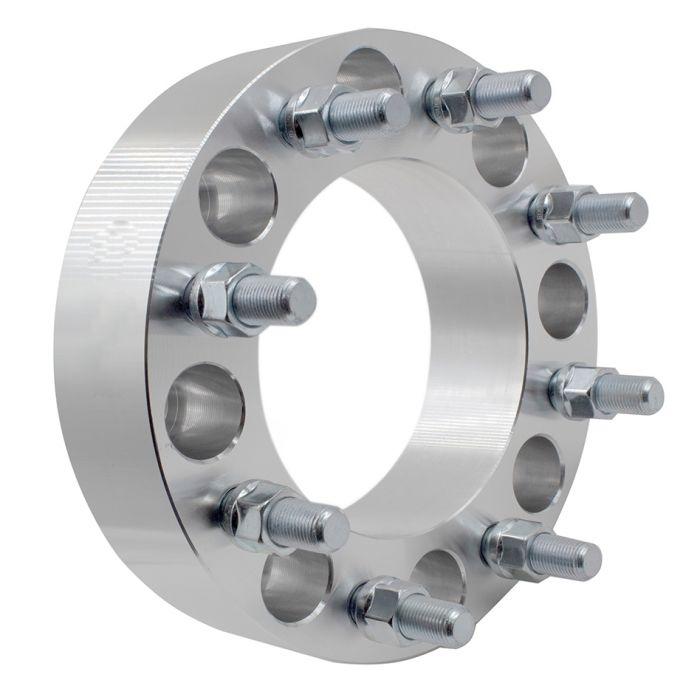 Wheel Adapter - 6061 Billet Aluminum - 8x170-8x170 (2.0) 126m CB (M14 2.0)