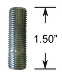 Wheel Stud - Thread In - M12 1.25 (1.5 Long)