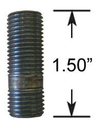 Wheel Stud - Thread In - 1/2  (1.5 Long)