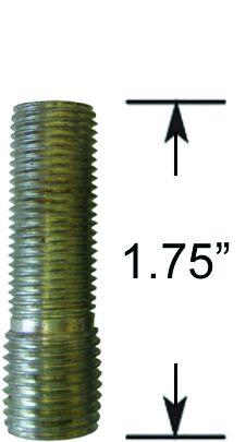 Wheel Stud - Thread In - M14 1.5 to 1/2  (1.75 Long)