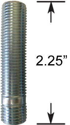 Wheel Stud - Thread In - M14 1.5 (2.25 Long)