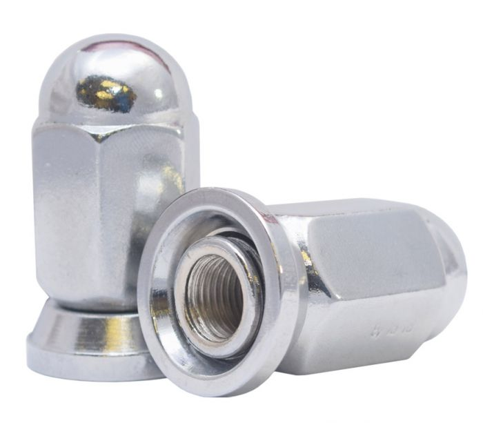 871195 Lug Nut | Dualie Acorn w/Washer [1 1/16 Hex] 9/16 Lugs