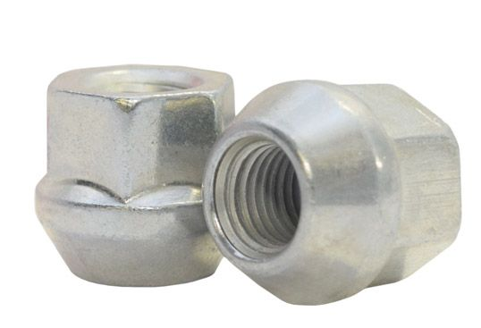 881142Z Lug Nut | OE Bulge Acorn Zinc [3/4 Hex] 1/2 Lugs