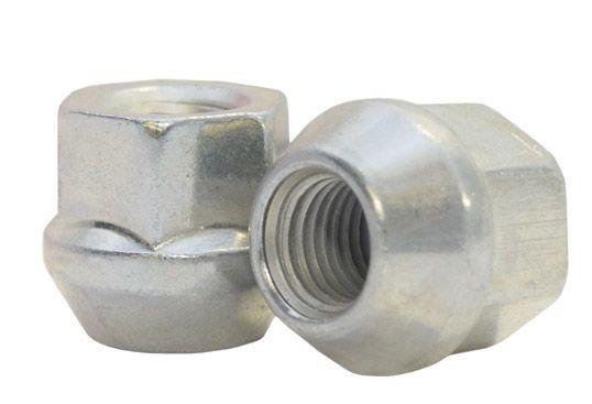 881148Z Lug Nut | OE Bulge Acorn Zinc [3/4 Hex] 14mm 1.50 Lugs