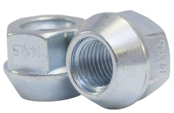 891148Z Lug Nut | OE Bulge Acorn Zinc [7/8