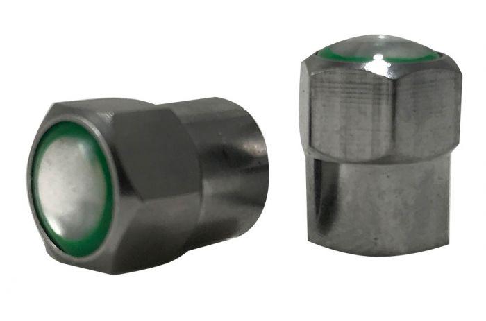 Valve Stem - Caps - Chrome Metal Cap (Nitrogen)