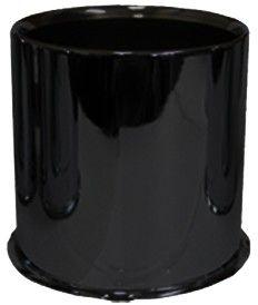 Cap - Push Thru Steel (Open End) - 4.250 Bore (Blk)