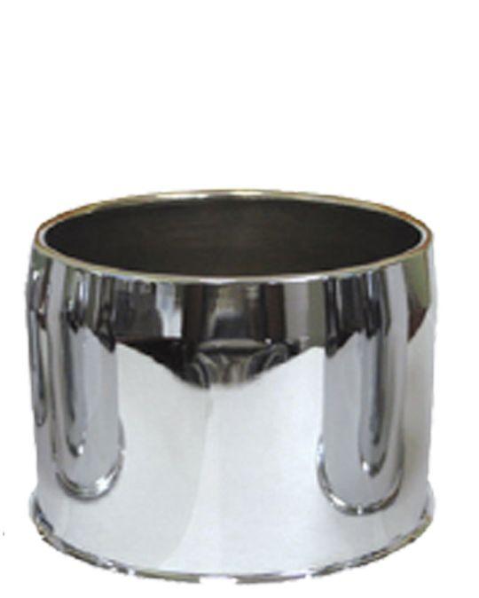 Cap - Push Thru Steel (Open End) - 5.150 Bore