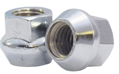 901148 Lug Nut | OE Bulge Acorn Zinc [17mm Hex] 14mm 1.50 Lugs