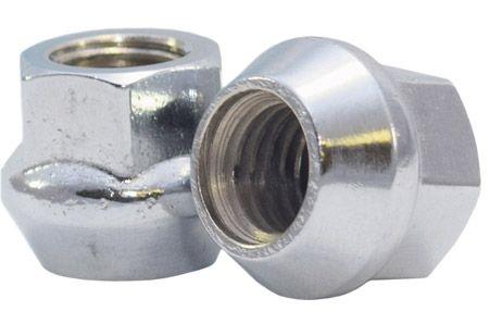 901173 Lug Nut | OE Bulge Acorn Zinc [17mm Hex] 14mm 2.0 Lugs