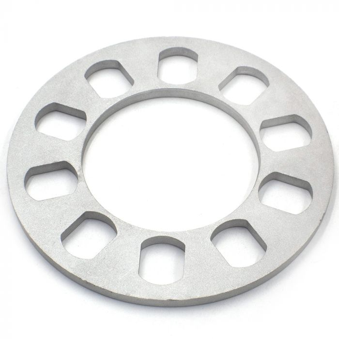 Wheel Spacer - Die Cast Aluminum - 5 Lug (108mm/4.25-135mm/5.00 )(8mm or 5/16)