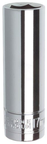 Monkey Wrench Thin Wall Socket   17mm w/1/2in. Drive
