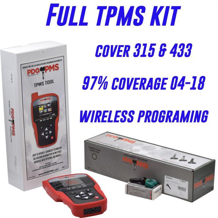 TPMS - Tool and Sensor Bundle - PDQ-46 + 24 PDQ-001